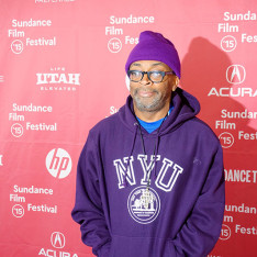 Spike Lee at the 2015 Sundance Film Festival for CRONIES